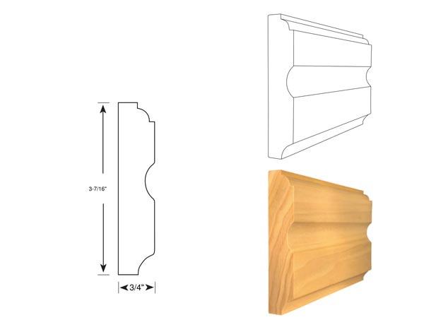 Chair Rail - 1023