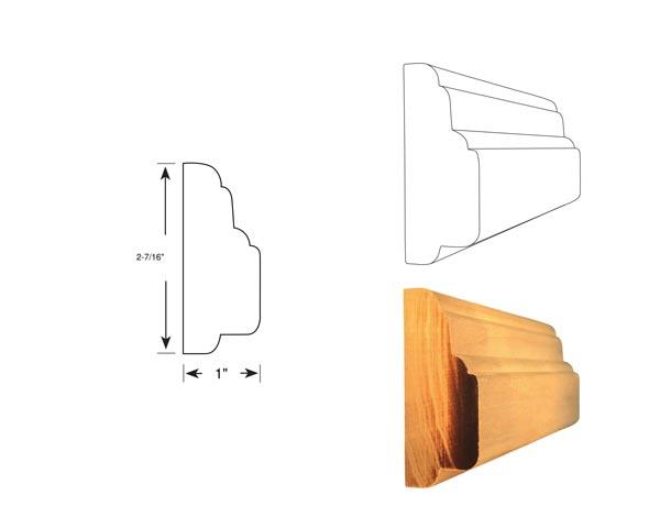 Chair Rail - 1037
