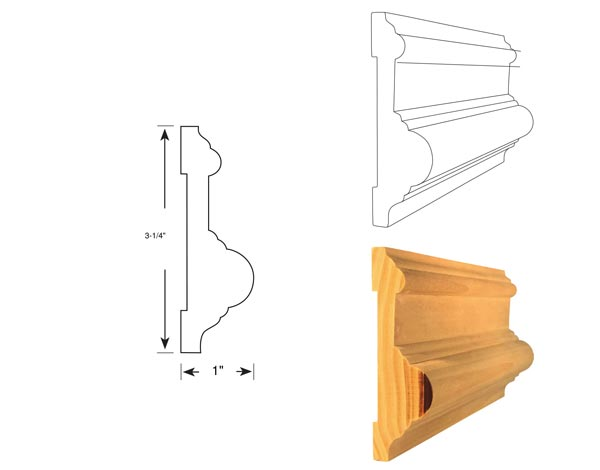 Chair Rail - 1038