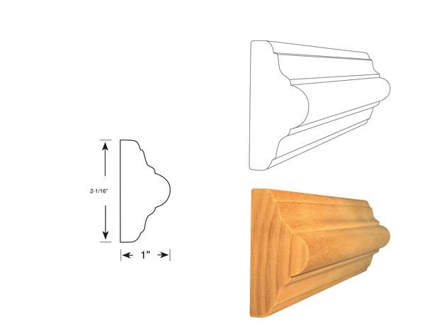 Chair Rail - 1040
