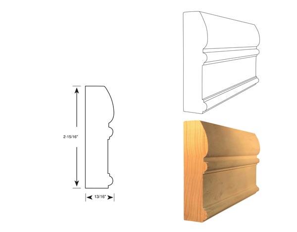 Chair Rail - 1041