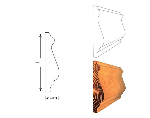 Chair Rail - 1043