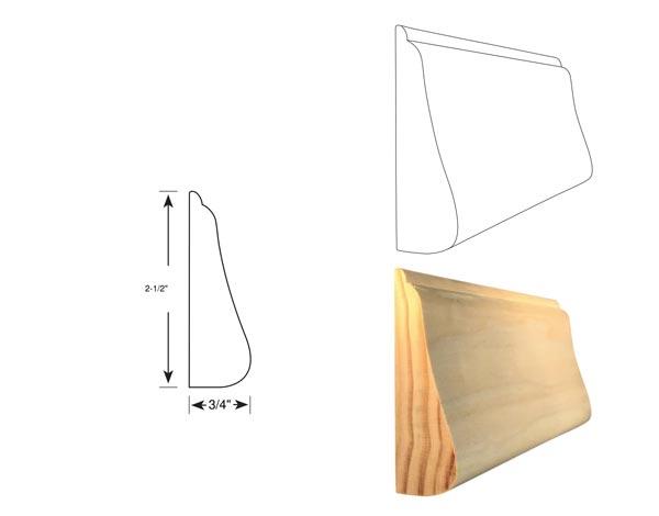 Chair Rail - 1045