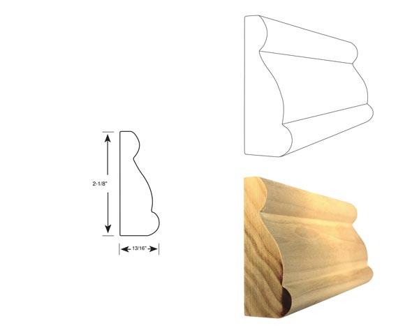 Chair Rail - 1047