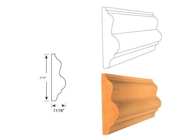 Chair Rail - 1048