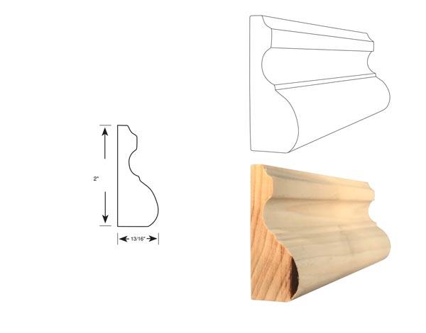 Chair Rail - 1065