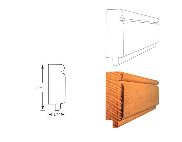 Chair Rail - 1068