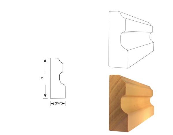 Chair Rail - 1070