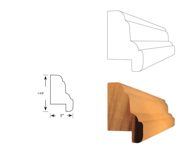 Chair Rail - 1072