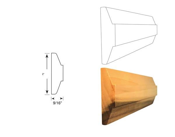 Chair Rail - 1089