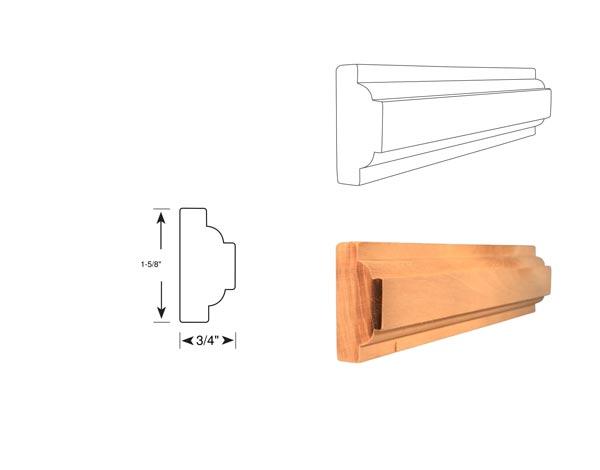 Chair Rail - 1091