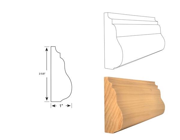Panel Molding - 3090