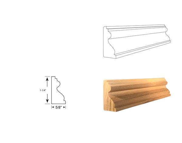 Panel Molding - 3096