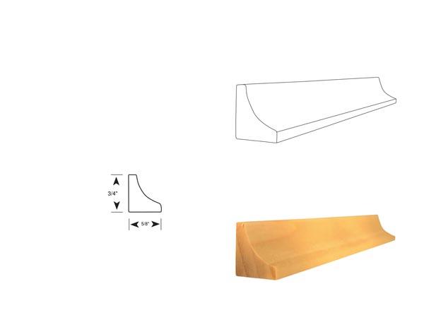 Cove Detail - 3168